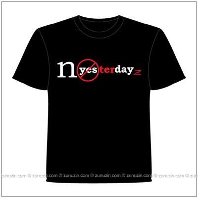 Art t-shirt NoYesterdayZ