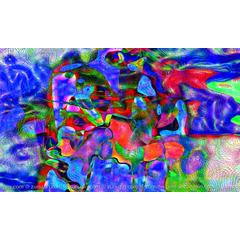 Original Digital Abstract Art - Deformation