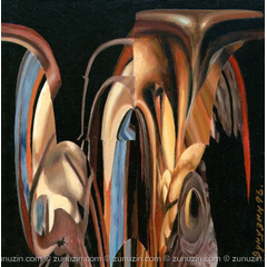 Contemporary oil painting - Abstract subject