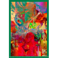 Contemporary Poster Art - Warrior