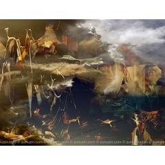Fine art prints on canvas - Surrealistic dream