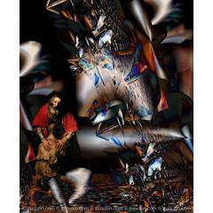Digital art for sale - Large danger
