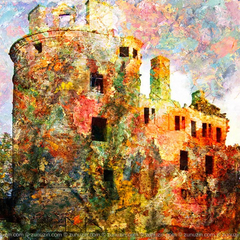 Architecture poster - Huntly Castle