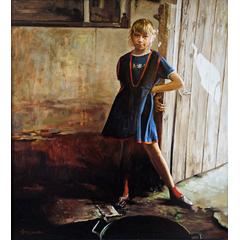 Olga at the door