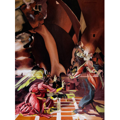 Annunciation (Botticelli Improvisation)