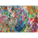 Original Abstract Painting for Sale - Flower Garden